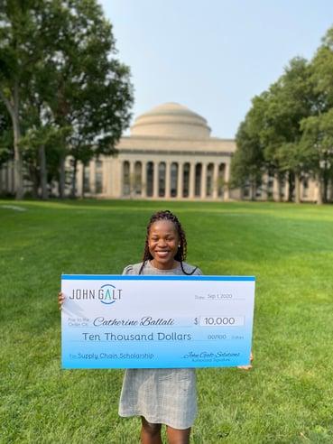 Catherina Ballali MIT, Scholarship winner Fall 2020